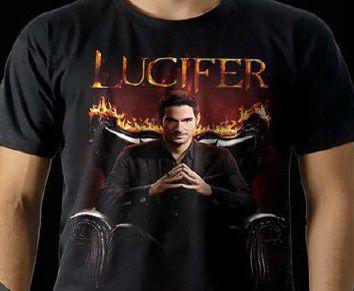 Camisa Lucifer -  Tamanho:M