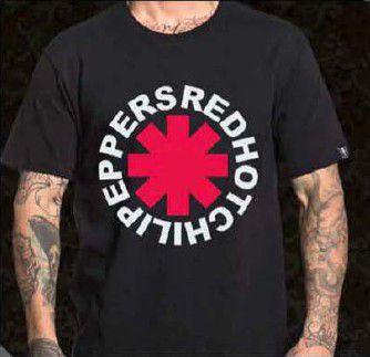 Camisa Red Hot C. Peppers - Logo Banda