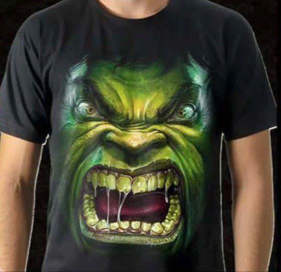 Camisa Hulk Tamanho: GG