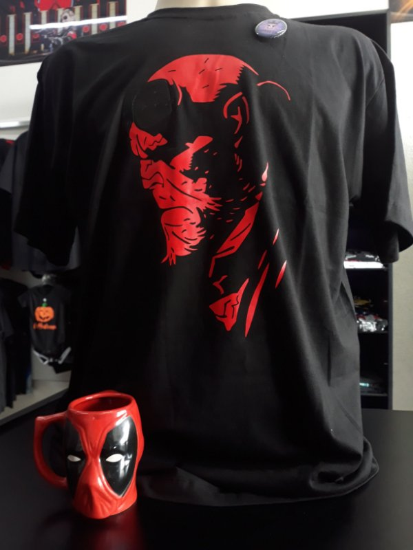 Camisa Hell Boy