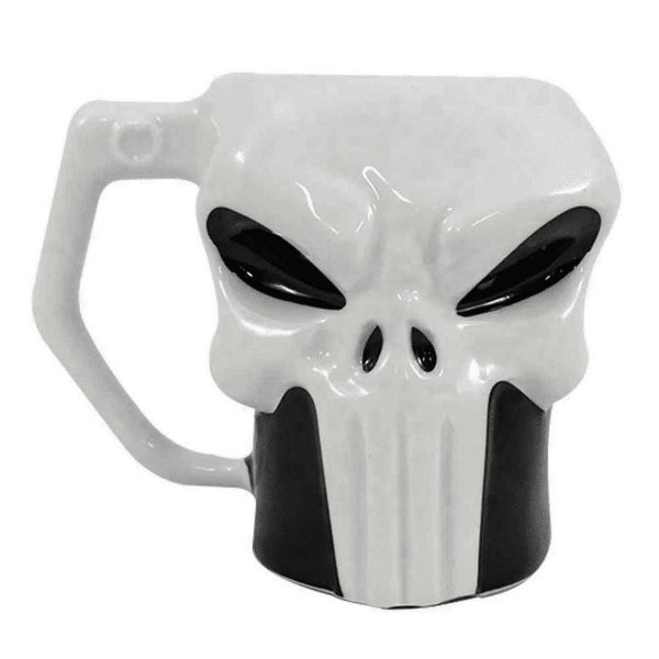 Caneca de Porcelana The Punisher Justiceiro 400 ml