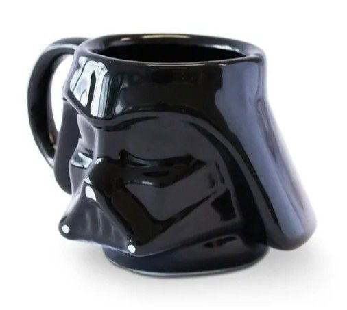 Caneca Darth Vader Porcelana 350ml