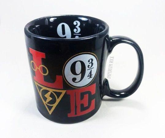Caneca Harry Potter Love 9 3/4 Porcelana