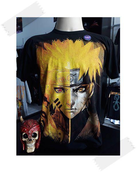 Camisa Naruto Kurama - PROMOÇÃO