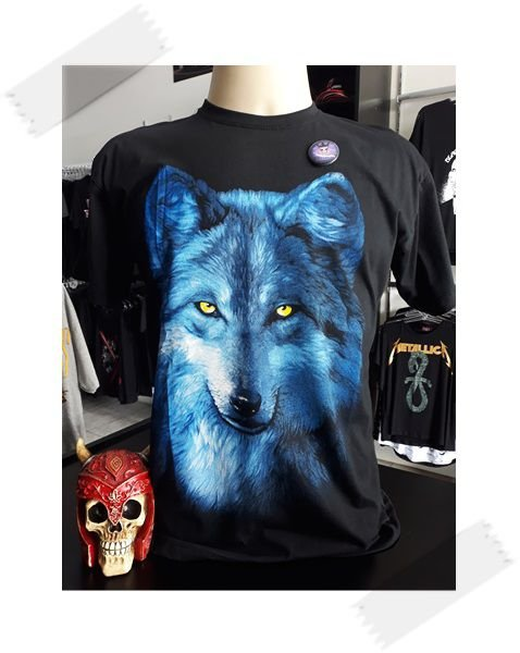 Camisa Lobo Azul