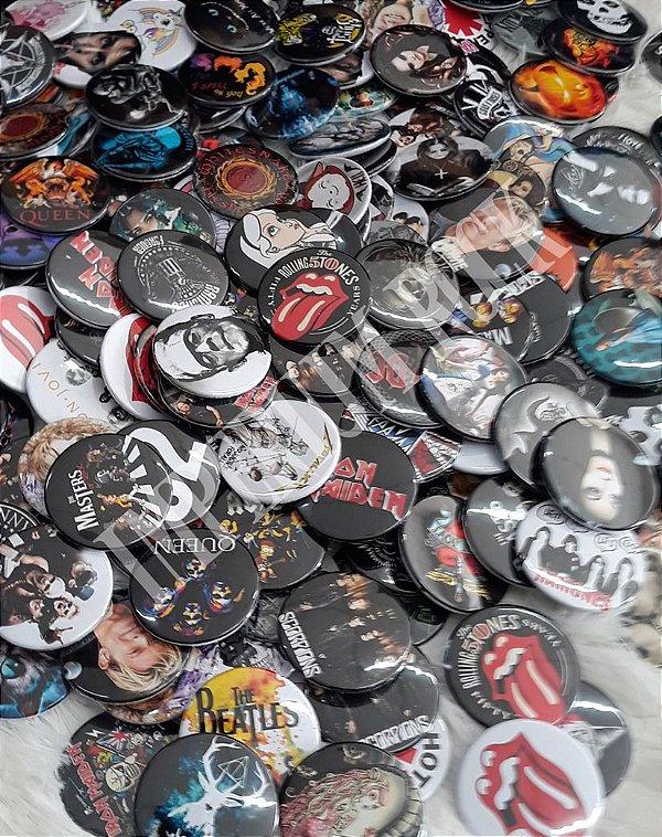 Kit Botons Bandas de Rock