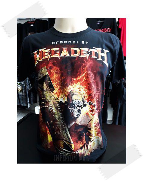 Camisa Megadeth Arsenal
