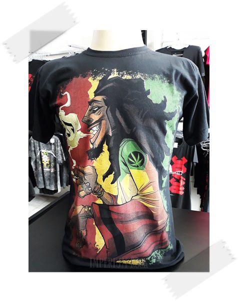 Camisa Bob Marley