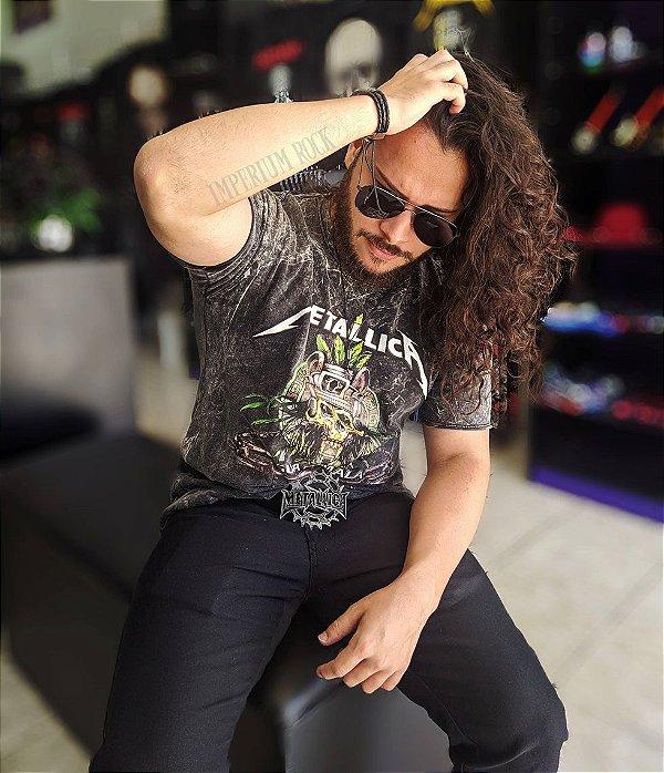 Camisa Estonada Metallica Guatemala
