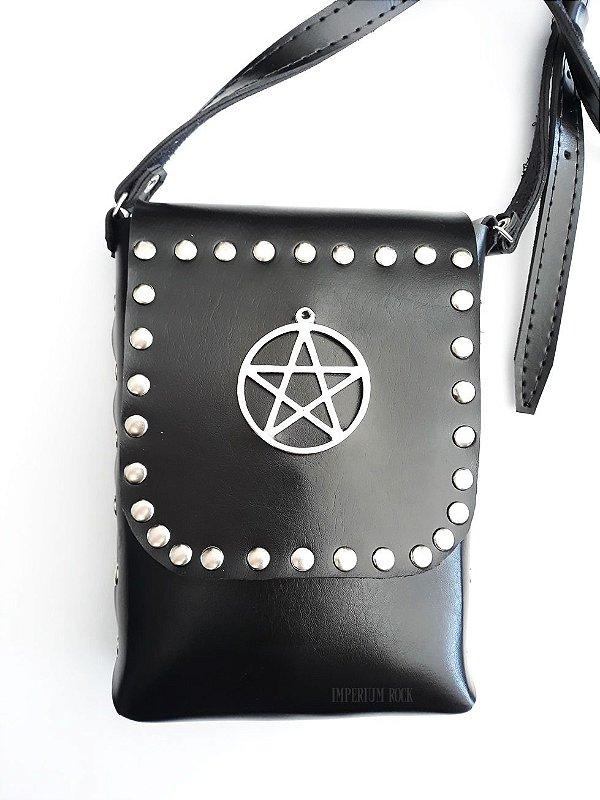 Bolsa Couro Pentagrama