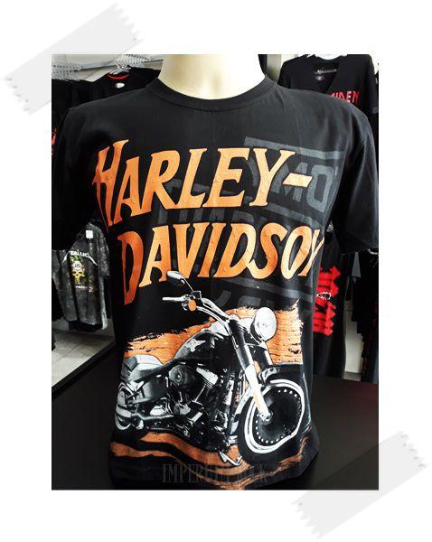 Camisa Harley Davidson Moto Custom