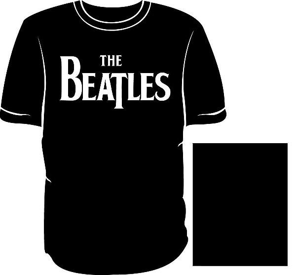 Camisa The Beatles Básica Logo