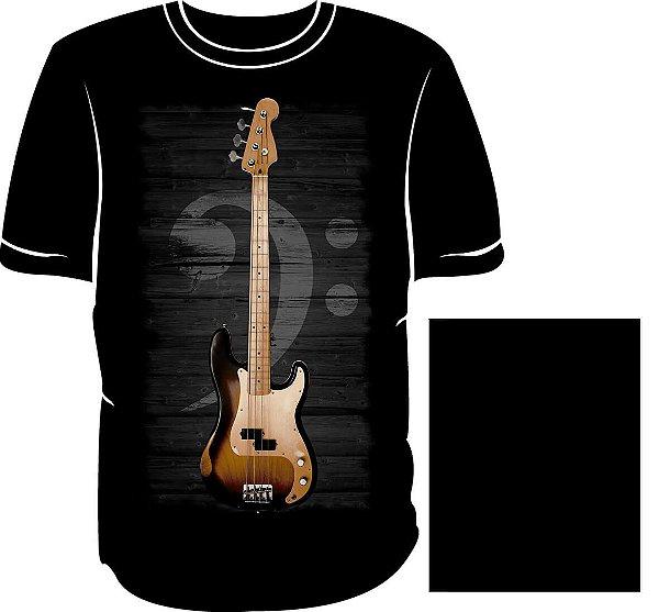 Camisa Série Instrumentos Baixo