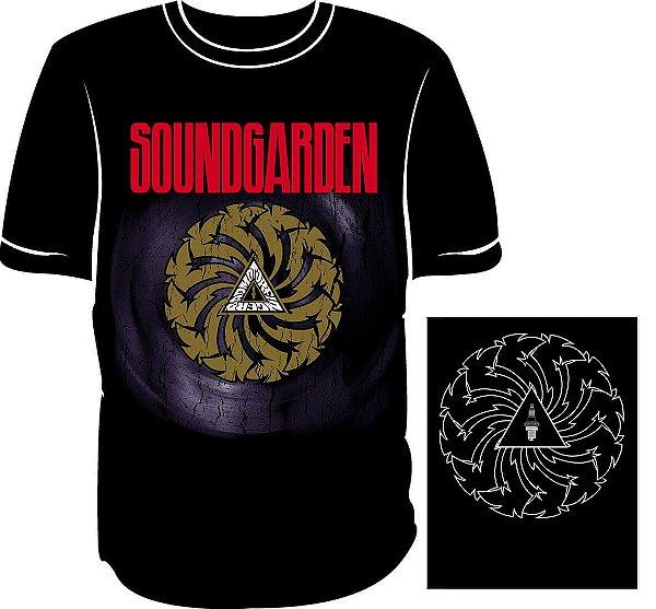 Camisa Soundgarden Badmotorfinger