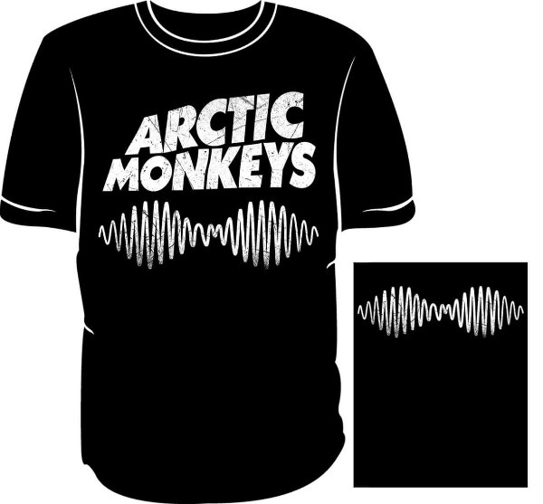 Camisa Arctic Monkeys -