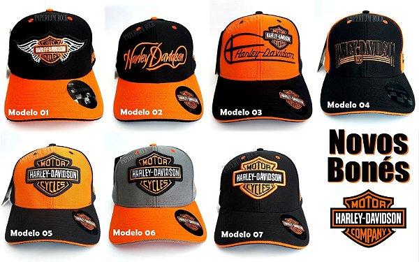 Boné Harley Davidson Premium