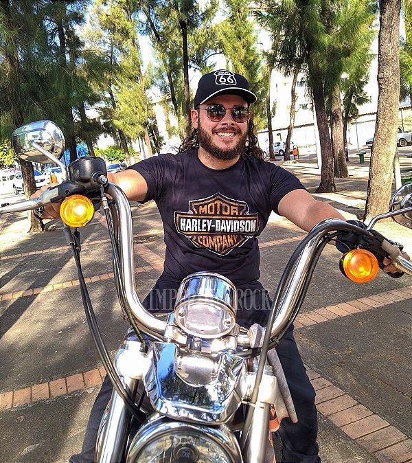 Camisa Harley Davidson Logo - LANÇAMENTO