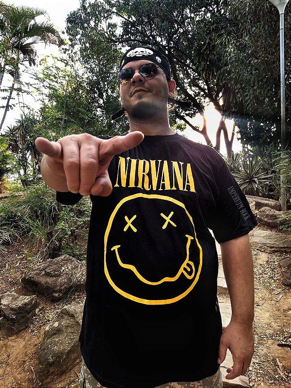 Camisa Nirvana Smile