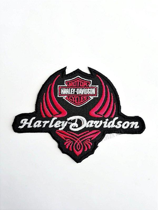 Patch Bordado Motors Harley Davidson