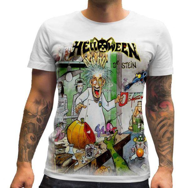 Camisa Helloween Dr Stein
