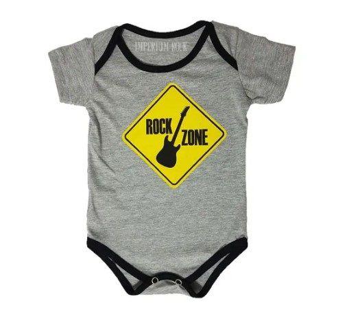 Body Bebê Rock Zone