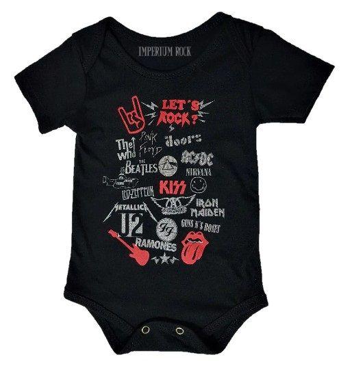 Body Bebê Lets Rock