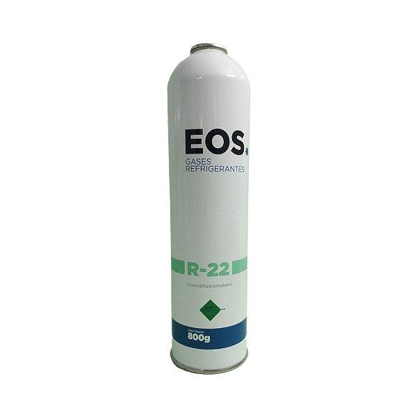 GAS R22 EOS 800g lata descartável