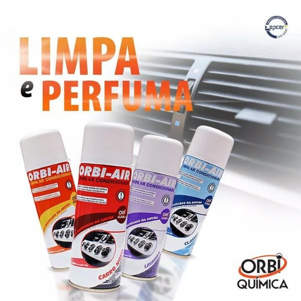 Air limpeza de ar condicionado Classic 200ml ORBI