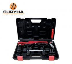 Kit Curvador de tubo com cortador e escariador 80150038 SURYHA