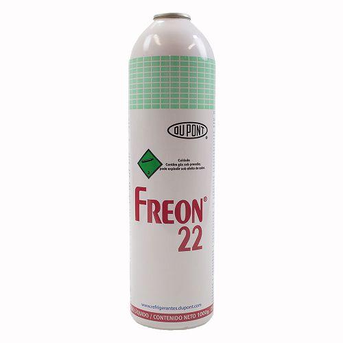 Gás refrigerante R22 lata 1KG CHEMOURS