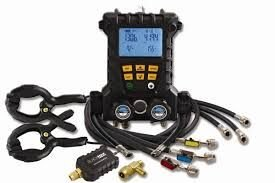 Manifold Digital CPS MD100VHE 4 vias completo todos os gases
