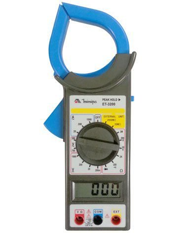 Alicate amperímetro CAT-II Minipa - ET320