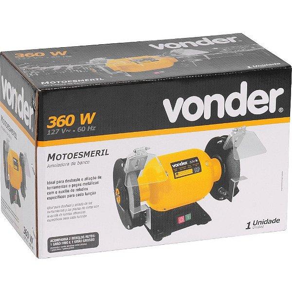 Motoesmeril 360W Monofásico 127V VONDER