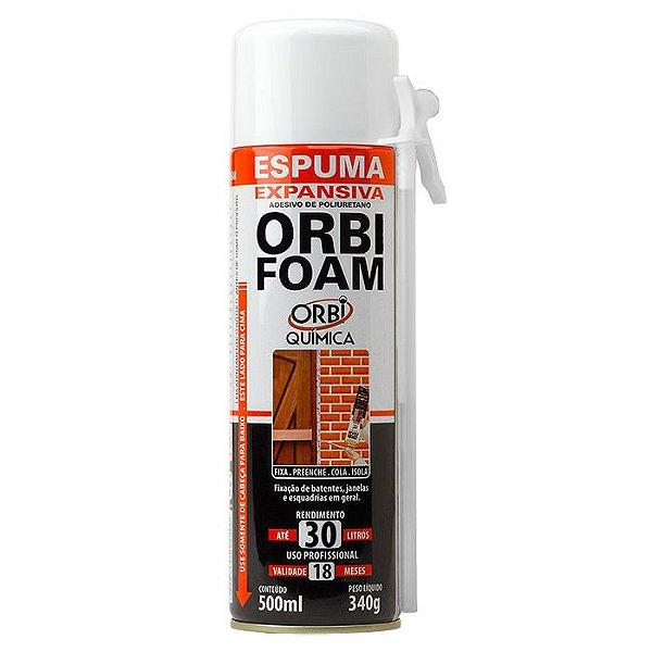 ORBIFOAM 340g x 500ml - Espuma Expansiva