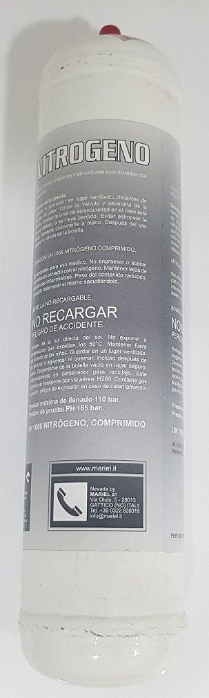 Cilindro Descartável de Nitrogênio 100L 110BAR