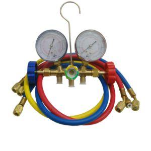 Manifold com Visor para gases: R22/134/404/407 (refrigeração comercial) - 000078 - Eolo