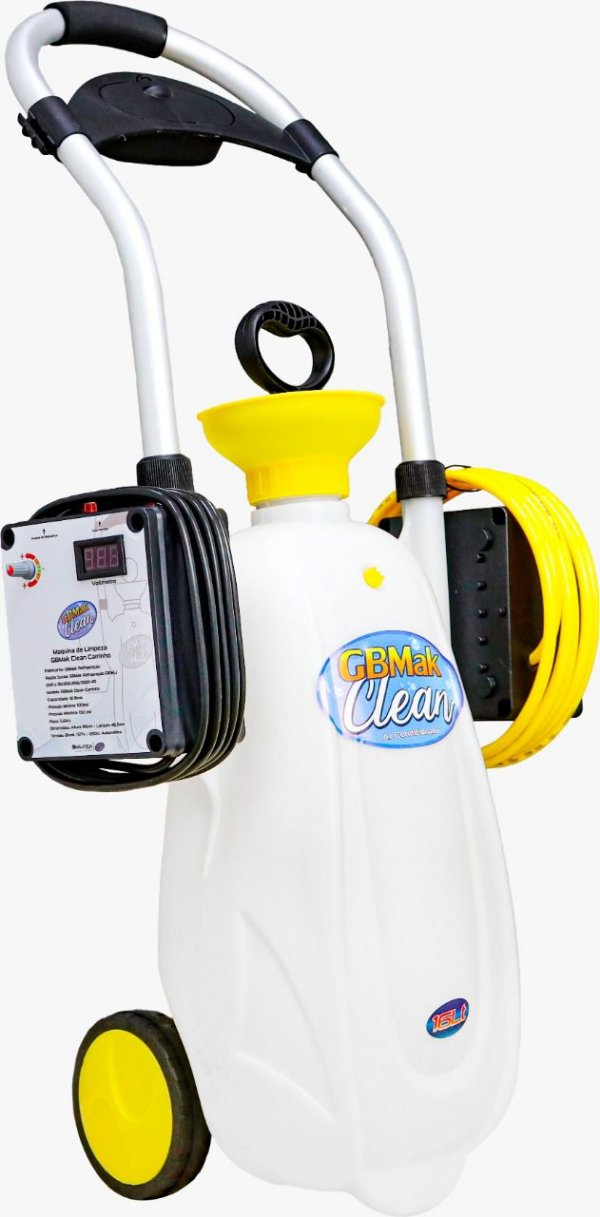 Máquina Limpeza Split GBMAK CLEAN 16Litros GBMAK 130psig bivolt