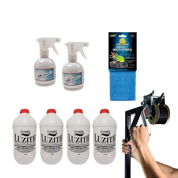 Içador com KIT higienização básico