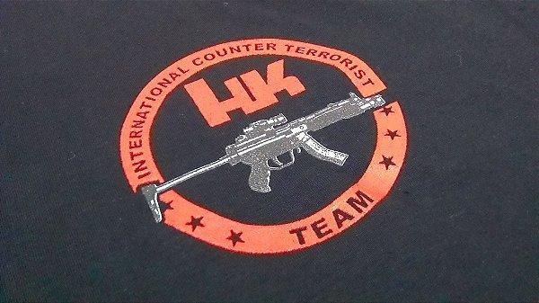 Camiseta FoxBravo - estampa HK International Counter Terrorist