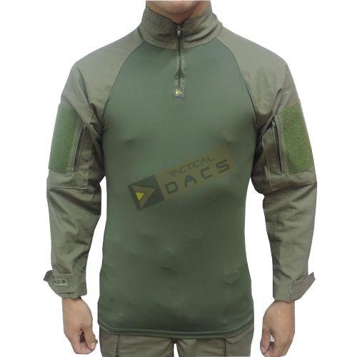 Combat Shirt HRT DACS - Verde-oliva