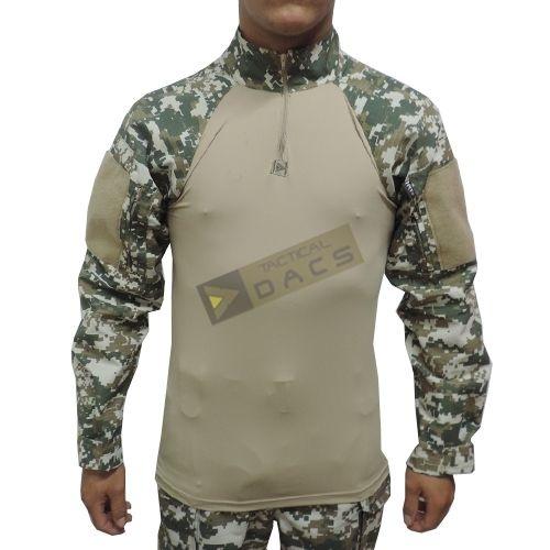 Combat Shirt HRT DACS - Digital Cerrado