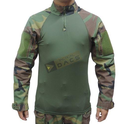 Combat Shirt HRT DACS - Woodland