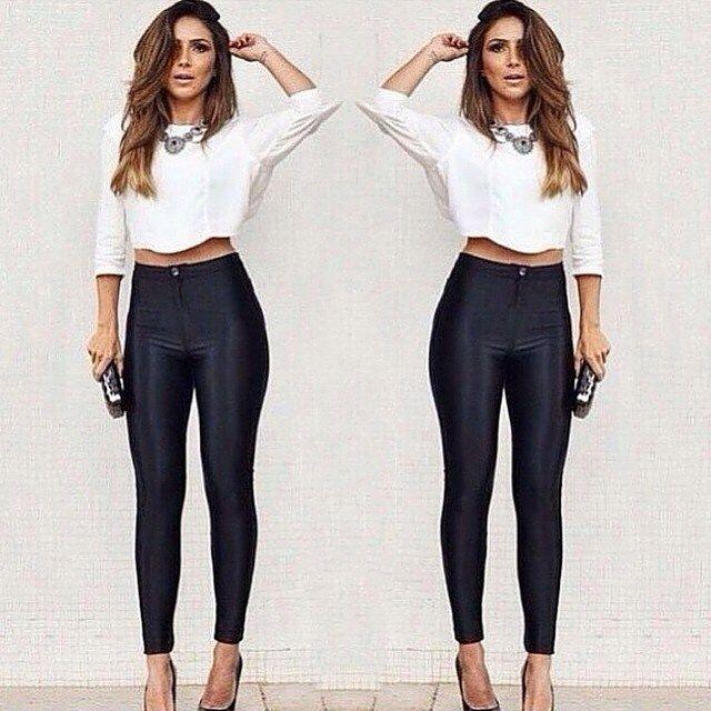 Calça disco pants sem bolso