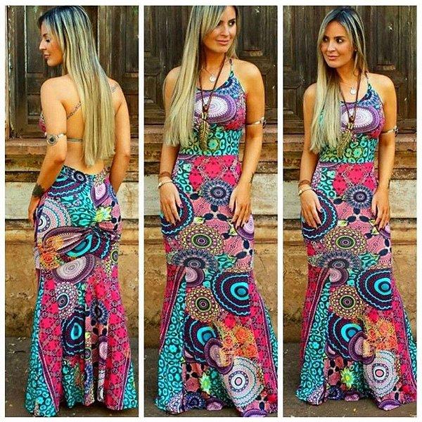 Vestido Sereia Trançado 05