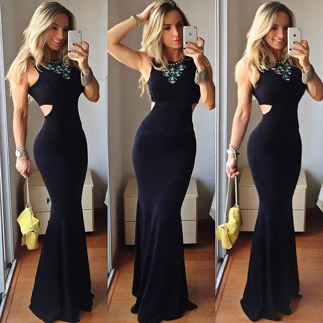 Vestido Sereia 36
