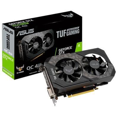 Placa de Vídeo Asus NVIDIA GeForce GTX 1650, 12 Gbps, 4GB, GDDR6 - TUF-GTX1650-O4GD6-GAMING