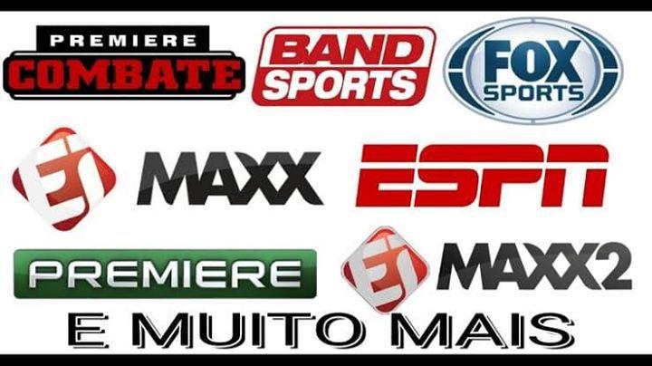 Pacote ESPORTES - Canais HD + FULL HD + Premieres + DAZN + Combates + Copa Libertadores + Copa Sul Americana