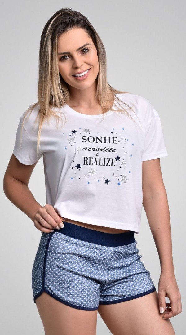 Baby Doll Short e Camiseta @stenatus