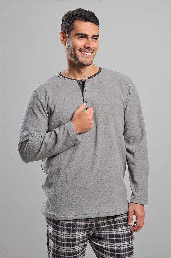 Pijama Polo soft Xadrez
