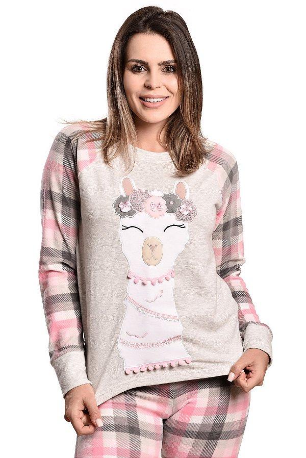 Pijama longo lhama Plush
